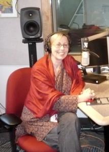 Sheryl McKay in her NXNW studio